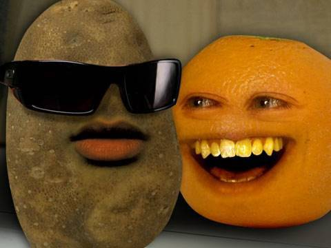 Annoying Orange Muddy Buddy