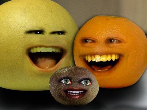 Annoying Orange Passion of the Fruit